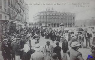 tour de france contrôle depart bayonne