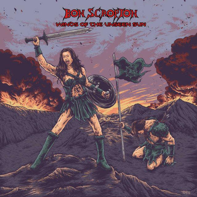 """Ο δίσκος των Bon Scropion """"Winds of the Unseen Sun"""""""