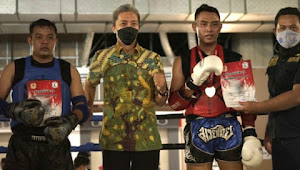 Sebanyak 104 Fighter Dari 28 Camp Muaythai Bertanding di Kejuaraan Bogor Muaythai Street Fight 2021