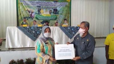Keltan di Purworejo Dapat Bimtek Peningkatan Kapasitas Petani dalam Pengembangan Agribisnis Padi