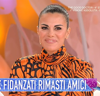 Bianca Guaccero sorriso detto Fatto 14 ottobre