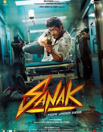 Sanak (2021) HDRip Hindi Movie Download - KatmovieHD