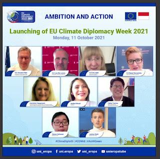 Pekan Diplomasi Iklim 2021 Ajak Masyarakat Bertindak Atasi Krisis Iklim