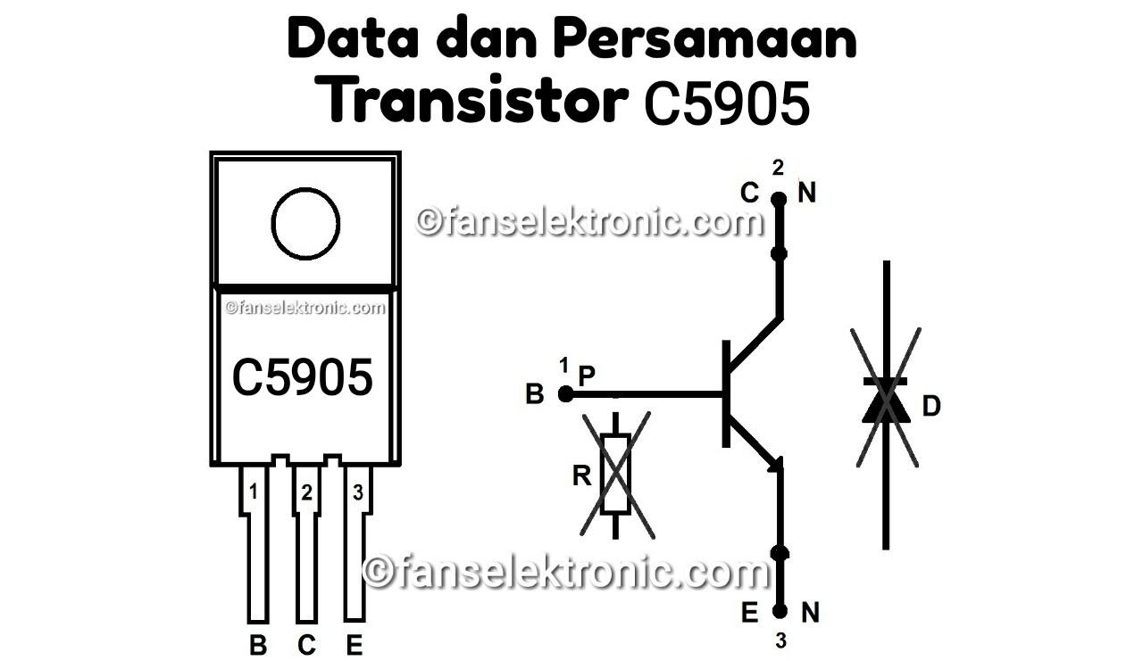 Persamaan Transistor C5905