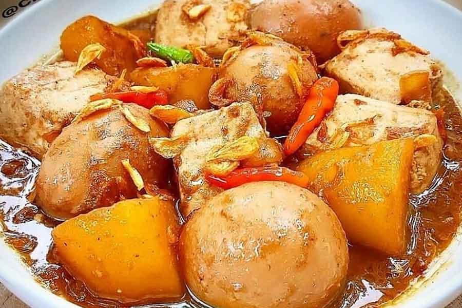 resep masakan semur telur puyuh kecap
