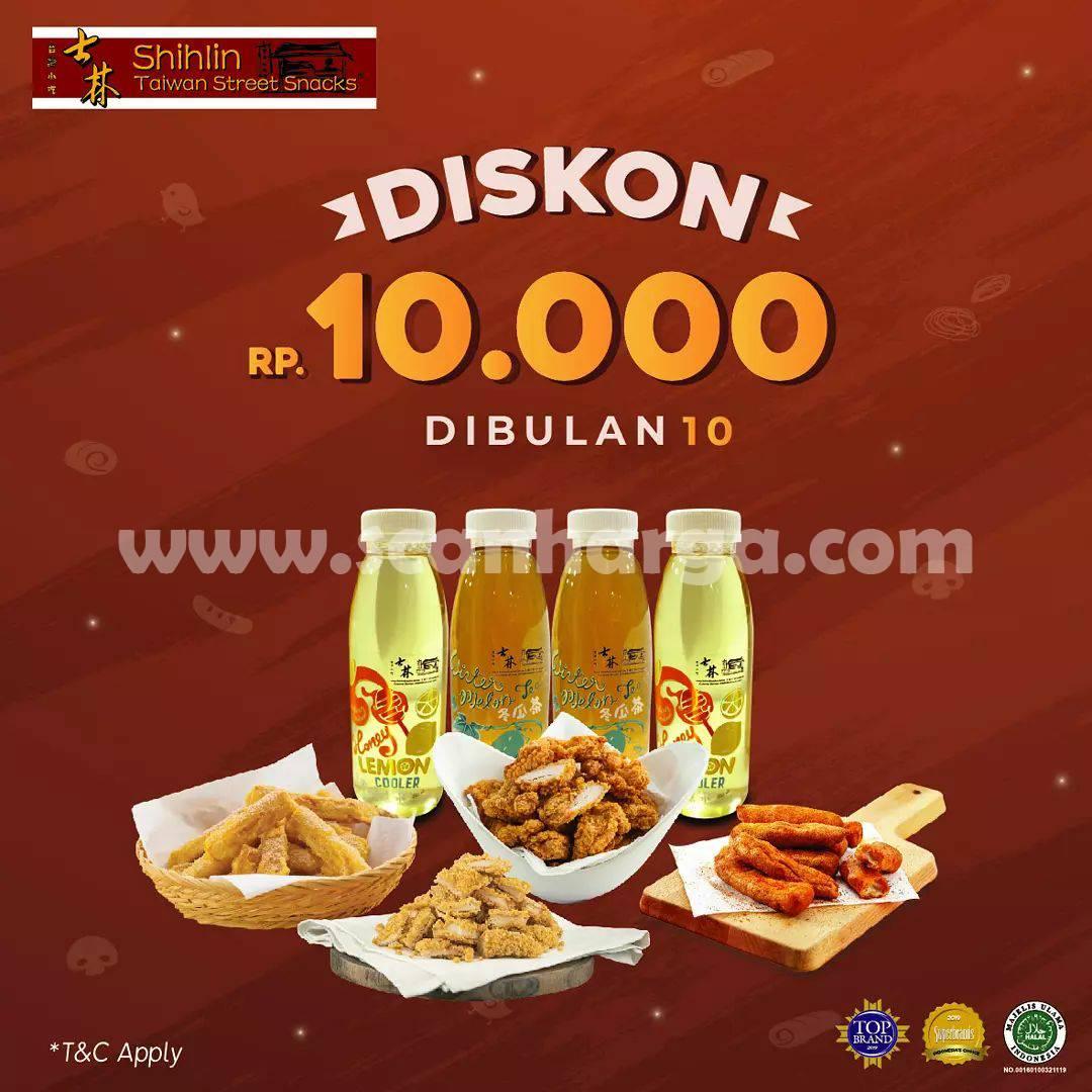Promo SHIHLIN OKTOBER – Dapatkan DISKON Rp. 10.000