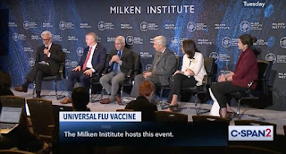 Anthony Fauci of NIH Rick Bright of HHS