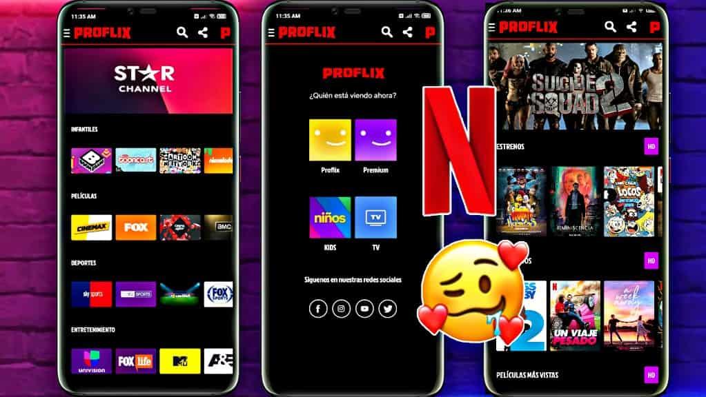 PROFLIX 【LA MEJOR Aplicación que NETFLIX 】TV - PELICULAS Y SERIES Gratis 2021