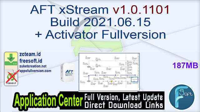 AFT xStream v1.0.1101 Build 2021.06.15 + Activator Fullversion