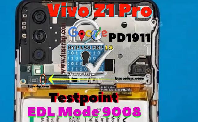 Vivo Z1 Pro 1918 PD1911F test point