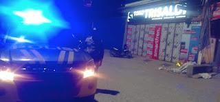 Antisipasi Gangguan Kamtibmas Malam Hari, Polsek Baraka Lakukan Patroli Blue Light