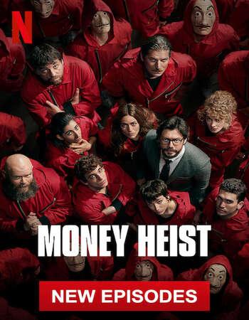 Money Heist (2020) HDRip Complete Hindi Netflix Web Series S04 Download