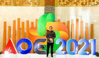 Bupati Pesawaran Hadiri Pembukaan APKASI Otonomi Expo 2021