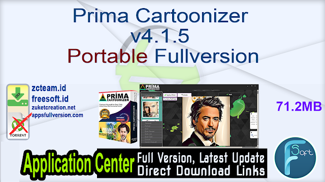 Prima Cartoonizer v4.1.5 Portable Fullversion