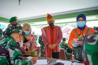 TNI Bantu 6.000 PKL dan Warung Terdampak Covid-19, Bobby Nasution Sampaikan Terima Kasih