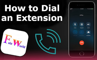 How to Dial an Extension