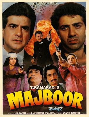 Majboor (1989) Hindi 720p HDRip x265 HEVC 700Mb