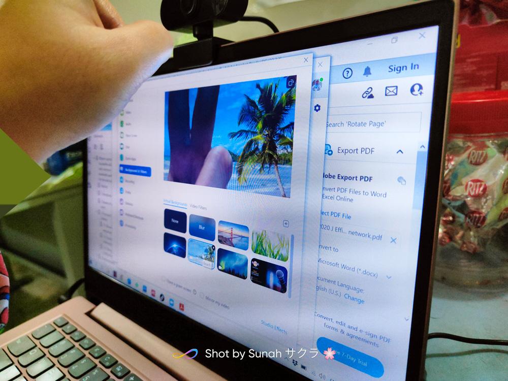 Webcam Laptop Dah Rosak, Beli Baru Dekat Shopee