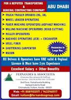 Transporting & Contracting Job Vacancy