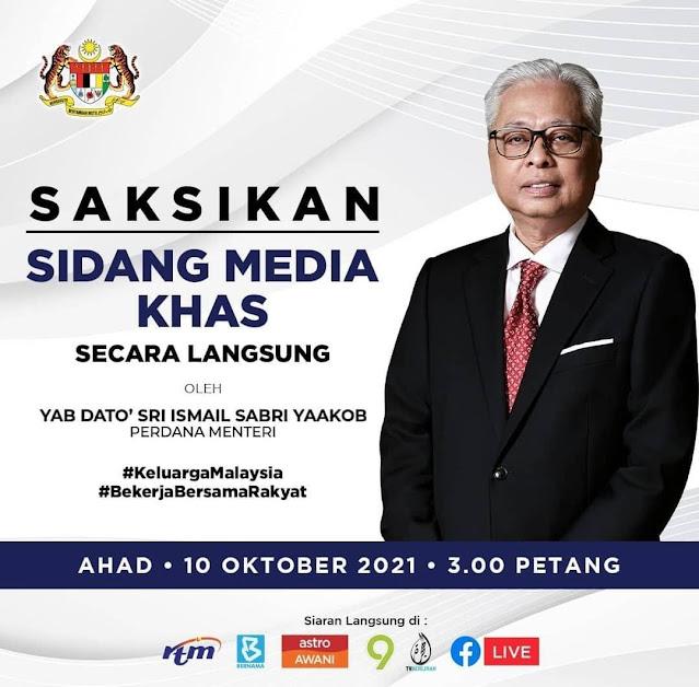 Sekatan Rentas Negeri Akan Dibuka Pada Isnin 11 Oktober 2021
