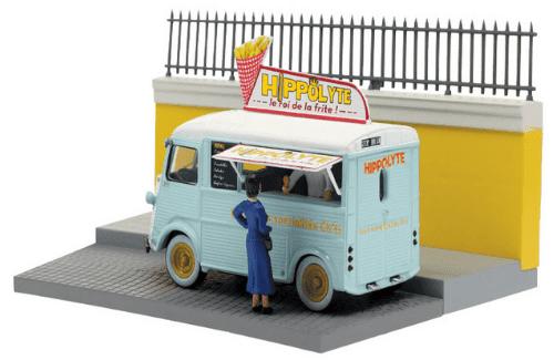 les plus beaux véhicules utilitaires, citroën type h 1:43 le marchand ambulant