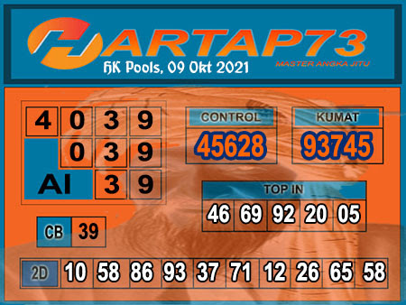 Hartap73 HK Sabtu 09 Oktober 2021 -