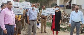 डाक अधीक्षक के नेतृत्व में निकाली गई जागरूकता रैली    #NayaSaberaNetwork