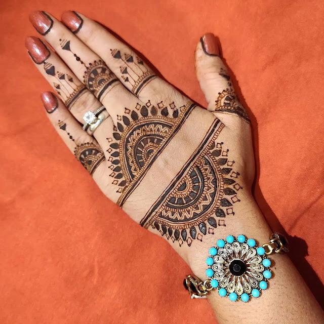 karva chauth special mehandi design