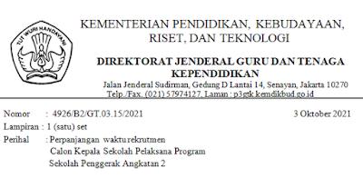 Program Sekolah Penggerak Angkatan 2