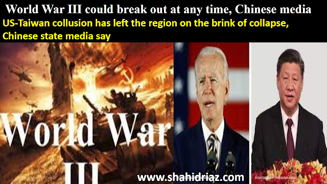 World War III could break out at any time, Chinese media