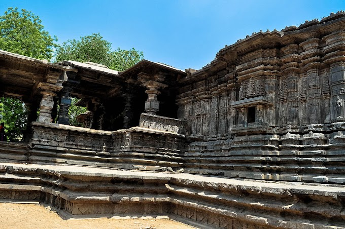 Thousand Pillar Temple in Warangal dedicated to Lord Shiva - Destroyed by the Mughal Empires during Islamic invasion