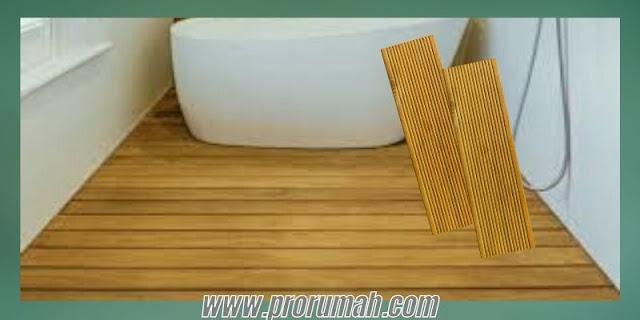 Jenis-jenis Lantai Kayu Tahan Air Berbahan Kayu Solid untuk Kamar Mandi - decking kayu bengkirai