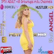 IPTV M3U Lists Updated ADULT Channels 18/10/2021