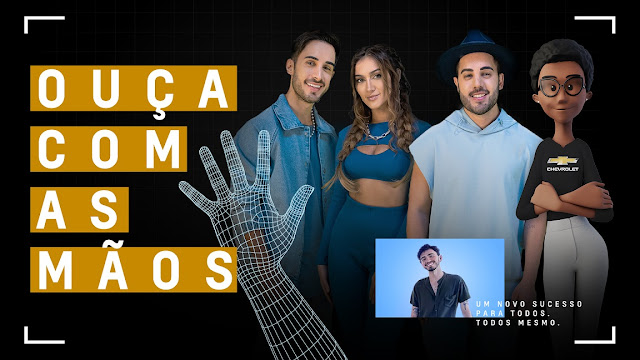 Chevrolet e banda Melim lançam clipe inédito em Libras no Dia Nacional dos Surdos