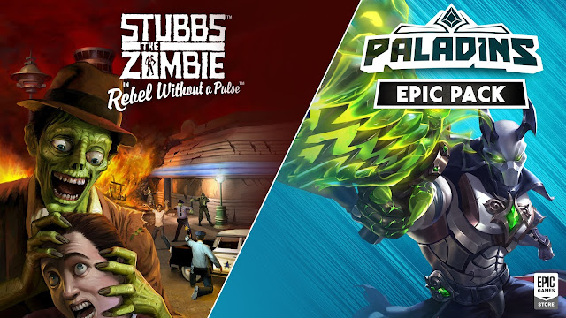 Epic 商店限時免費領取《Stubbs the Zombie in Rebel Without a Pulse》與《聖騎士》Epic 包