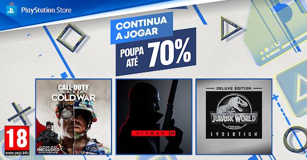 """Promoção """"Continua a Jogar"""" arranca hoje na PlayStation®Store e prolonga-se até dia 27 de outubro"""