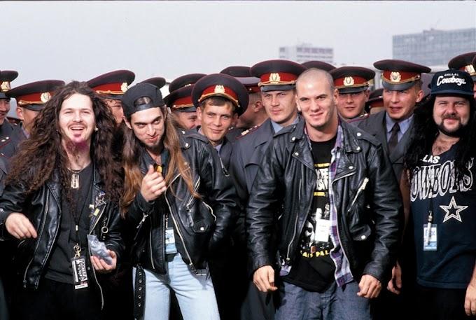 Revisa fotos del legendario paso de Pantera por Rusia en 1991