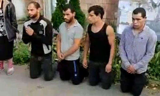 """""""Вибачалися на колінах"""": бійці АТО розшукали чоловіків, які побили їх побратима. Відео"""