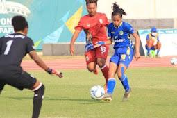 Kalahkan Tim Putri Sepak Bola Papua Barat 5-0, Jawa Barat Melaju ke Semifinal