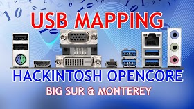 USB Mapping Hackintosh Opencore