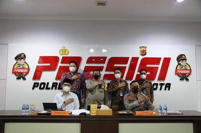 Kapolres Tasikmalaya Kota Menerima Kunjungan Kerja Tim Peneliti Komisi Kepolisian Nasional (KOMPOLNAS)