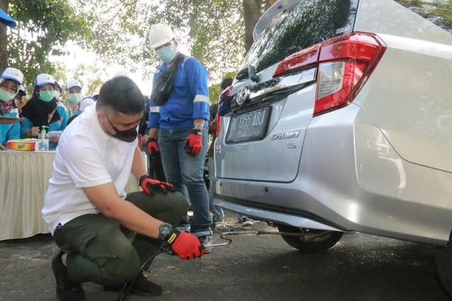 Bobby Nasution Minta Uji Emisi Gas Buang Kendaraan Rutin Dilakukan