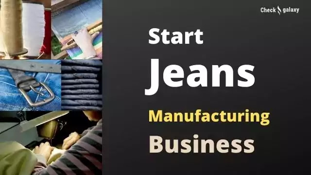 Jeans Making Business