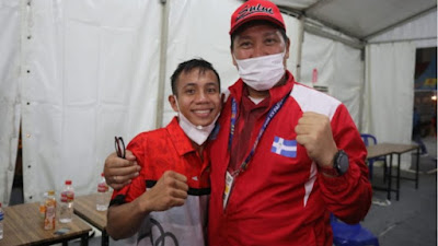Petinju Sulut Juan Abas Berpeluang Sumbang Medali Emas