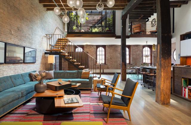 Bangunan Lama Terlihat Lebih Modern Dengan Desain Rumah Loft