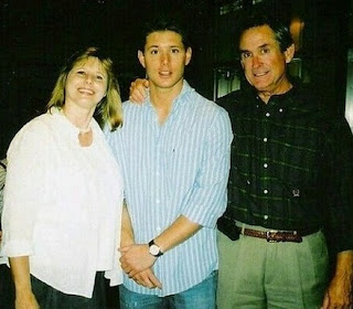 Donna Joan Shaffer-Ackles with her hubby Alan & their son