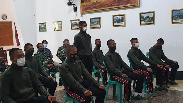 11 Orang TNI-KC Tiba di Kodim Purbalingga
