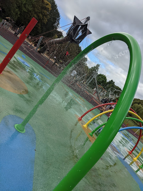 An Alternative Day Out in Cumbria | Ideas for Places to Visit - Bitts Park Water Play Area