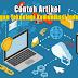 Artikel Tentang Perkembangan Teknologi Komunikasi Industri Kreatif