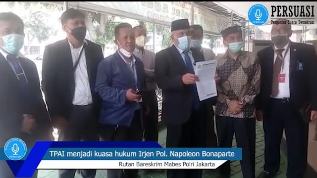 Ahmad Yani dkk Bentuk Tim Pembela Aqidah Islam, Kawal Kasus Irjen Napoleon